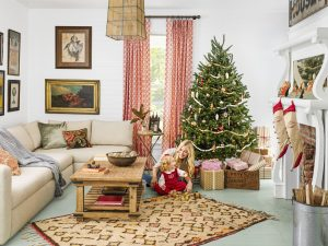 Delicieux Holidays Are Mostly Spent In The Living Room, Where The Entire Family Comes  Together To Cook, Eat And Relax. Here Are Some Simple Yet Beautiful Ideas  That ...